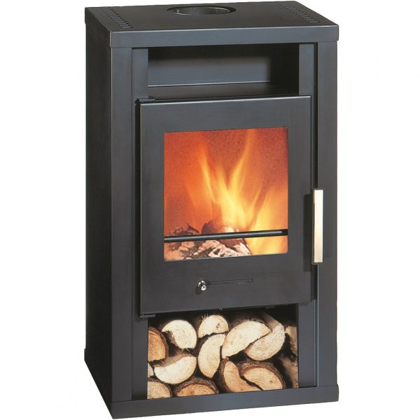 Wamsler Jupiter Fireplace Black