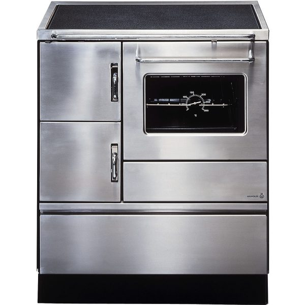 Wamsler K128CL Solid Fuel Cooker Stainless Steel