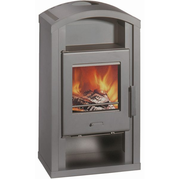 Wamsler Saturn Grey Fireplace